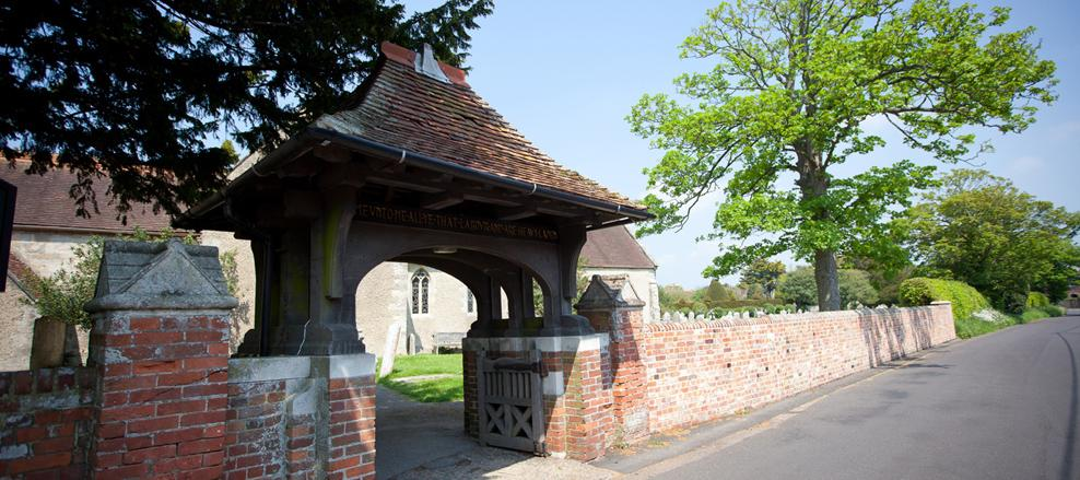 Re-Build of Church Wall, Milford on Sea
