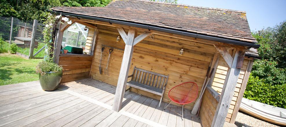 Outbuilding & Decking, Milford on Sea